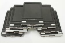 Used Riteway Plastic 4X5 Cut Sheet Film Holders Lot of 7