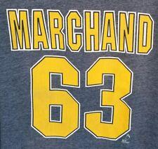 Boston Bruins Brad Marchand #63 Hoodie Jacket Sweatshirt Mens XXL 2XL Hockey
