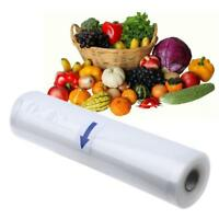 Food Storage Bags Vacuum Sealer Bag Magic Saver Seal Fresh Kitchen Roll Tool