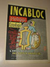INCABLOC LE PORTE ECHAPPEMENT UNIVERSEL=ANNI '50=PUBBLICITA=ADVERTISING=281