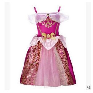 Princess Dress Kids Girls Princess Costume Fairytale Dress Up Girls Fancy Dress