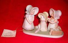 Mint 1994 vintage Homco Circle Of Friends figurine Be Happy kids dress up dog