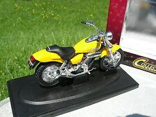 ROAD SIGNATURE 1/18 MOTO HONDA MAGNA  jaune  !!!