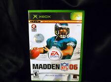 Madden Football 06 XBox 360  Everyone, Region-Free, Sports, 2006