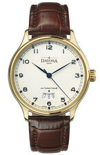 """New DAVOSA """"Classic  Goldplated"""" Automatic Watch"""