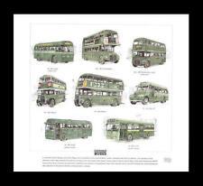 London Country Bus AEC Routemaster Regal Regent Print