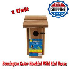 Pennington Cedar Bluebird Wild Bird House, Cedar Wood, Small Birds, 1 Unit