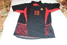 BELGIUM NATIONAL TEAM 2002/2003/2004 AWAY FOOTBALL SHIRT NIKE SIZE L ADULT #19