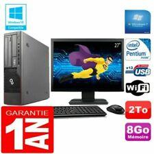 PC de bureau Fujitsu avec windows 7 pour 8 Go maximale de la ram