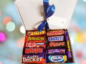 Chocolate Hamper Gift Set Sweets Selection Gift Box Present Birthday Lockdown