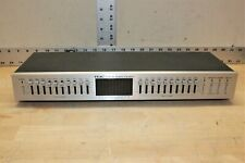 Vintage Teac Eqa-10 w/ 10-Band Graphic Equalizer and Spectrum Display *Working*