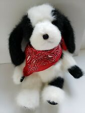 """Boyds Bear, Puppy Dog, """"Shiloh P. Poochdale"""", with Tag, Retired 2003, #541201"""