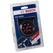 "Bosch Style Line 2"" Mechanical Oil Pressure Gauge (Black) Fst8216"
