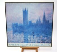 Claude Monet Quality Print Framed Houses of Parliament on the Thames