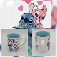 New Disney Mug - Stitch - Lilo & Stitch Coffee Cup 14 oz. Valentine's day gift