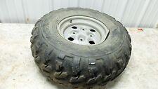 04 Arctic Cat 650 V-2 4x4 FIS atv right rear back wheel rim and tire