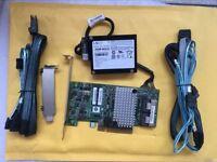 LSI 9267-8i 6Gb/s PCI-Express 2.0 512MB 8Port SATA/SAS + 8087 SATA Cable BBU