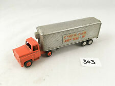 BUDGIE TOYS #202 INTERNATIONAL LONG DISTANCE REFRIGERATION TRUCK LORRY DIECAST