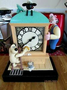 Vintage Wallace and Gromit  Clock 1998