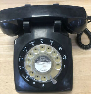 Vintage gpo telephone black STP 1960