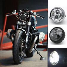 "7"" inch LED Headlight Halo Headlamp for Honda Ymaha Suzuki Davidson Motorcycle"
