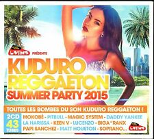 KUDURO REGGAETON SUPPER PARTY 2015 - 2 CD COMPILATION NEUF ET SOUS CELLO