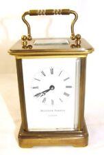 Swiss Brass Antique Mantel & Carriage Clocks (1900-Now)