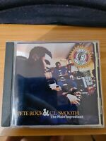 Pete rock & CL Smooth The Main Ingredient CD. 1994 East Coast Hip Hop Old School