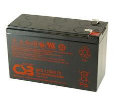 CSB UPS12580 Rechargeable Sealed Lead Acid Battery 12V 580W UPS 12580 F2 SLA