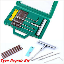 Car Auto Tyre Repair Kit Tubeless Tire Wheel Puncture Strips Needle Hand Tools