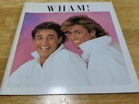 Wham ! 1985 Japan Tour Book Concert Program George Michael Make It Big