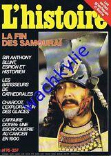 L'histoire n°95 - 12/1986 samouraïs Charcot espionnage secte espionnage