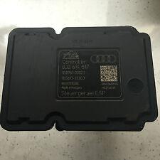 AUDI TT TTS ABS PUMP 8J0614517 10.0961-0302.3 8J0 614 517 10.0212-0015.4 ESP
