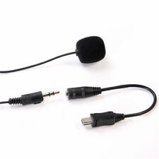 Hot Pro 3.5mm External Mini Microphone with Collar Clip for GoPro Hero 4 3 3+