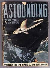 Pulp ASTOUNDING SCIENCE FICTION April 1939 - RAY BRADBURY letter, Eando Binder