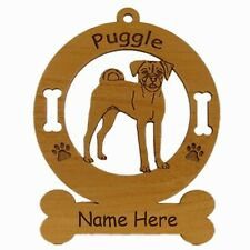 Puggle Standing Dog Breed Ornament Personalized With Your Dogs Name 3764