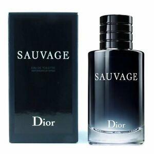 Sauvage by Christian Dior Eau de Toilette Spray for Men NEW