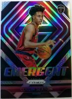 2018-19 Panini Emergent Silver Prizm Collin Sexton Rookie RC #8, Cavaliers
