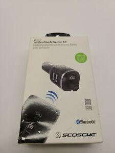 SCOSCHE BTFM4-SP1 Universal Bluetooth Handsfree Car Kit w/ FM Transmitter