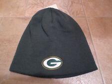 NFL Green Bay Packers Green Uncuffed Logo Knit Stocking Cap Hat K173Z-Green (35)