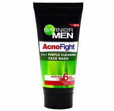 1X50 GRAM GARNIER MEN ACNO FIGHT 6 IN 1 FACE WASH WITH FREE WORLDWIDE SHIPPING