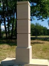Gate Piers Pillars Cast Stone PG-07