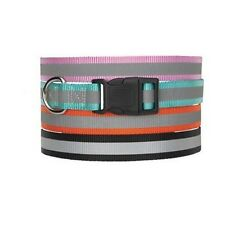 "Guardian Gear ZA9841869 Reflective Dog Collar- Fits Necks 18"" To 26""- Orange NEW"