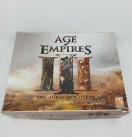 Age of Empires III The Age of Discovery Board Game Pre-Owned Sorted