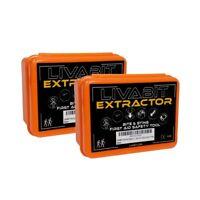 2x LIVABIT Venom Extractor Pump First Aid Safety Tool Kit Emergency Snake Bite