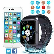 Smart Wrist Watch Camera Bluetooth GSM Phone Mate For Android Samsung iPhone US