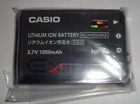 Batterie D'ORIGINE CASIO NP-70 Exilim Zoom EX-Z150RD
