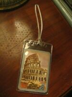 Malaysia Singapore Airlines Luggage Tag - MSA Vintage Repurposed Playing Card