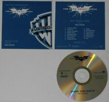 The Dark Knight Rises Batman Hans Zimmer FYC  U.S. promo cd - Hard-to-find!
