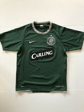 Celtic jersey shirt 2007/2008 away official nike soccer football size Small